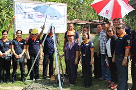 Ground Breaking of Mabini Fire Station