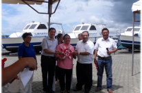 Turn Over of BFAR PL480 to Municipality of Mabini